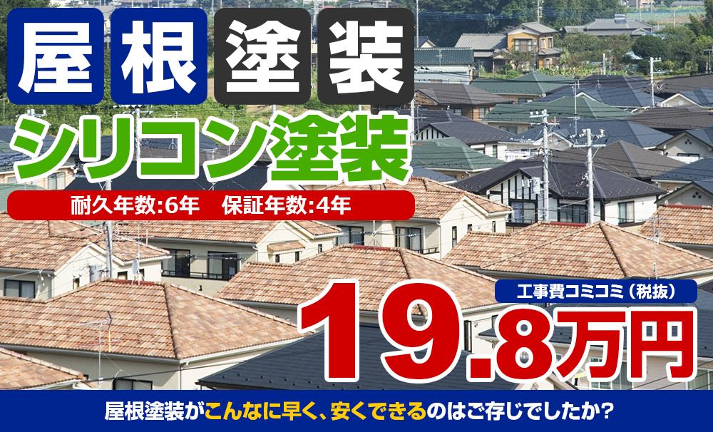 シリコン塗装 19.8万円