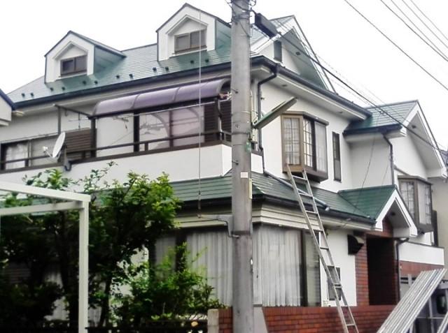 小平市 S様邸 屋根塗装工事