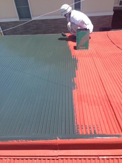 アパート屋根塗装工事