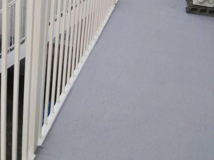厚木市 アパート防水工事、鉄部塗装工事