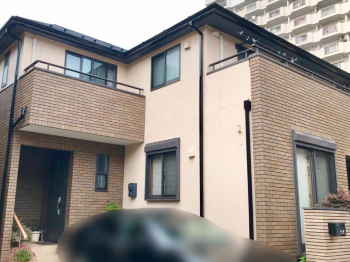 江東区 C様邸 外壁屋根塗装工事