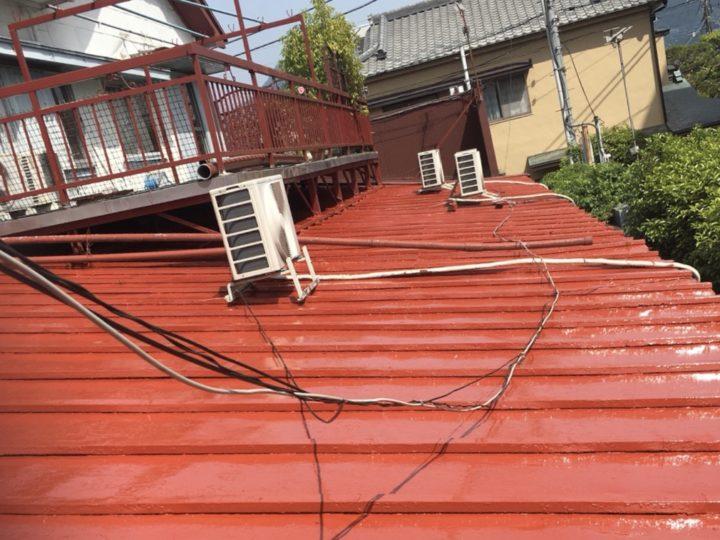 御殿場市 I様 下屋根塗装工事