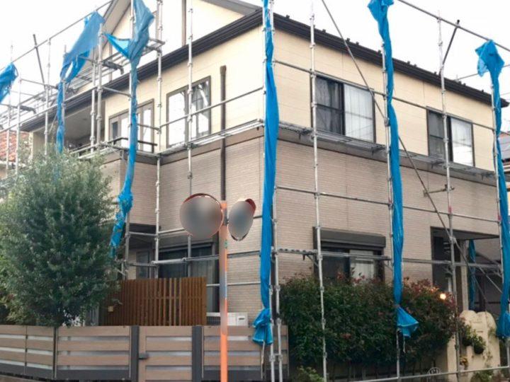 小平市 S様邸 外壁屋根塗装工事