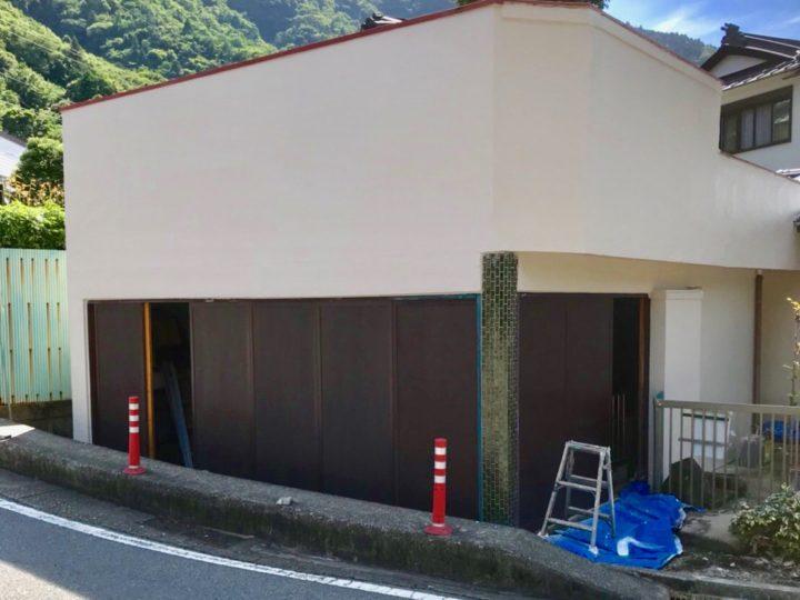 足柄下郡箱根町 M様 倉庫外壁塗装工事