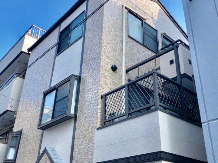 江東区 O様邸 外壁塗装・屋根カバー工法
