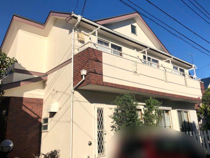 小平市 W様邸 屋根・外壁塗装工事