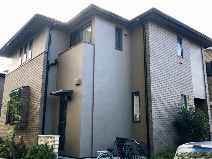 江東区 N様邸 屋根塗装・外壁塗装工事、ベランダ防水工事