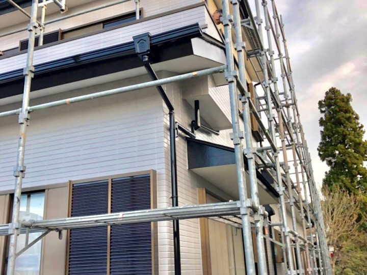 箱根町 S様邸 外壁塗装、壁一部補修工事
