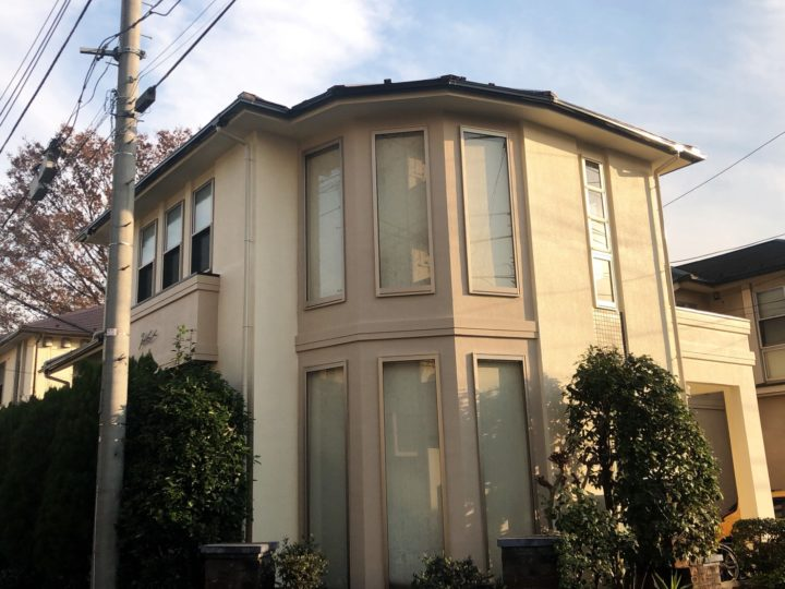 小平市 M様邸 屋根塗装・外壁塗装工事