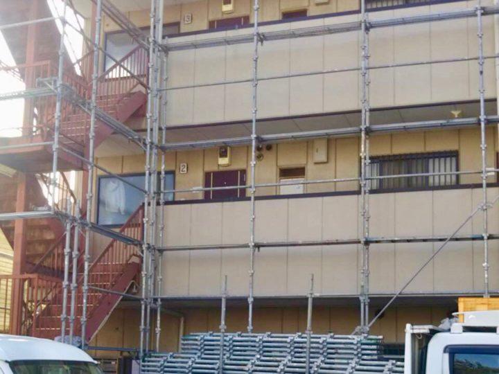 相模原市 ビル 外装改修工事