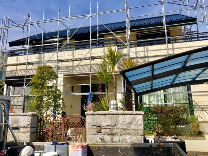 大和市 U様邸 屋根・外壁塗装工事