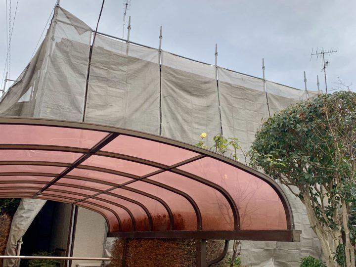 大和市 I様邸 屋根・外壁塗装工事