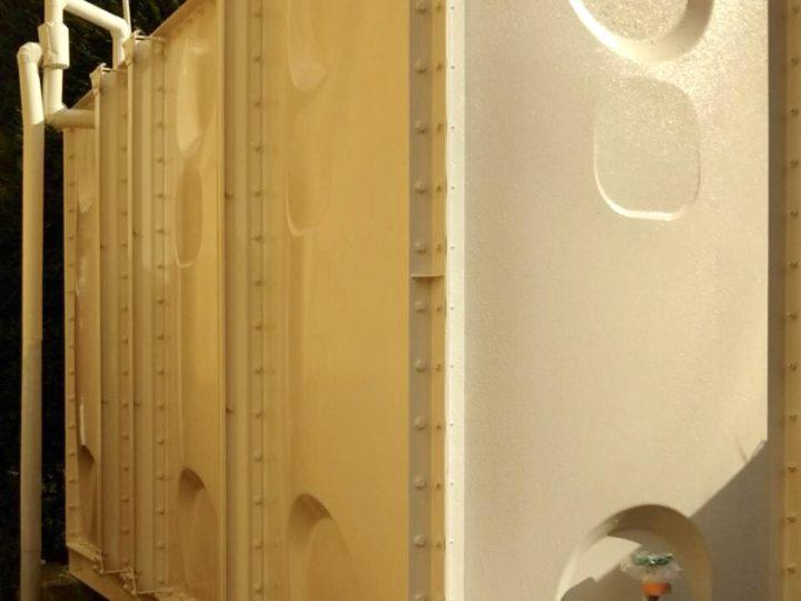 小田原市 貯水タンク塗装工事