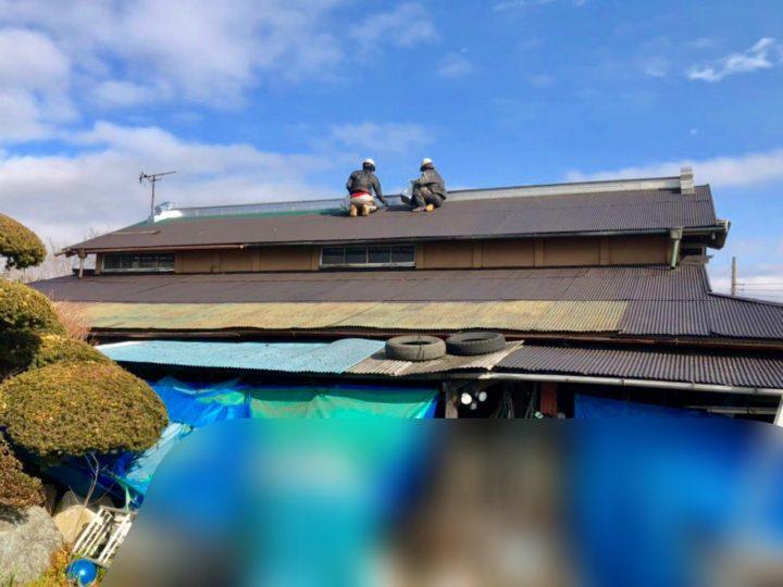 厚木市 Y様邸 納屋トタン屋根塗装