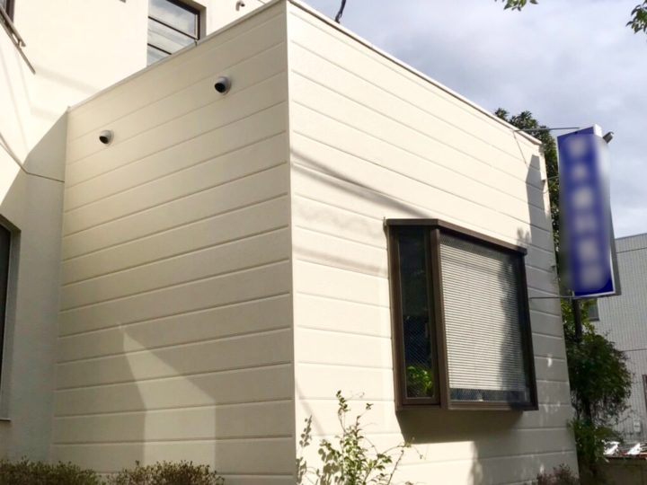 横浜市 歯科医院 一部外壁塗装工事