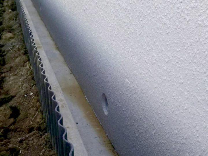 小田原市 コンクリート塀塗装工事