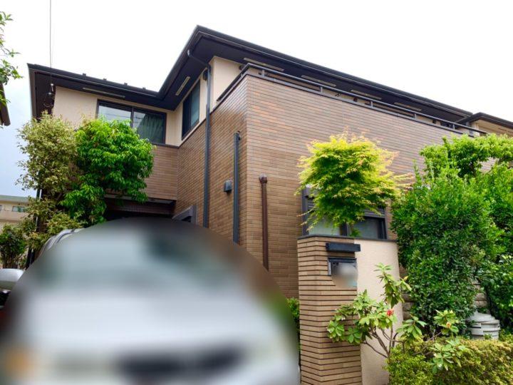 新座市 F様邸 屋根・外壁塗装工事