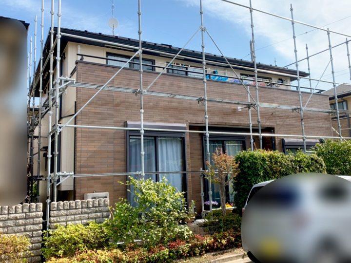 新座市 T様邸 屋根・外壁塗装工事