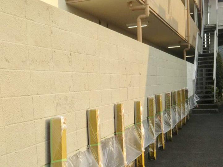 【施工中】横浜市 マンション 外装改修・屋上防水工事