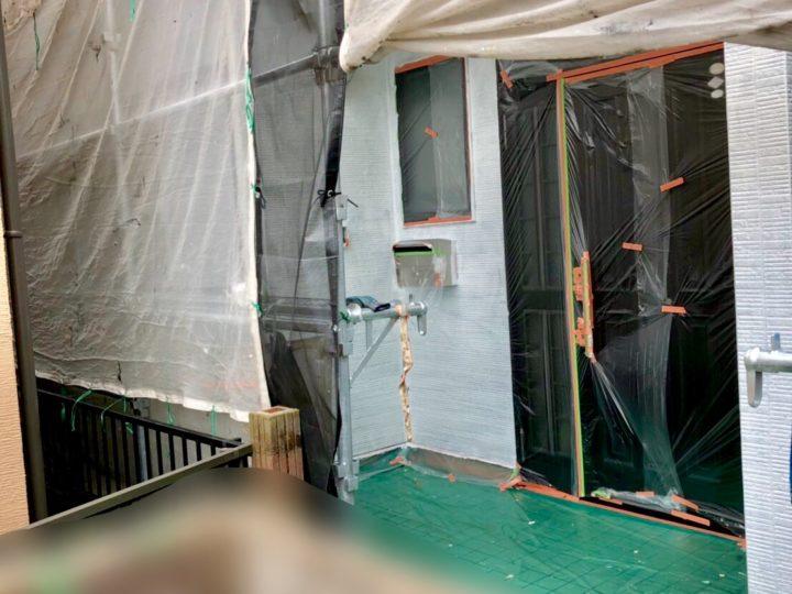 【施工中】厚木市 S様邸 屋根・外壁塗装工事