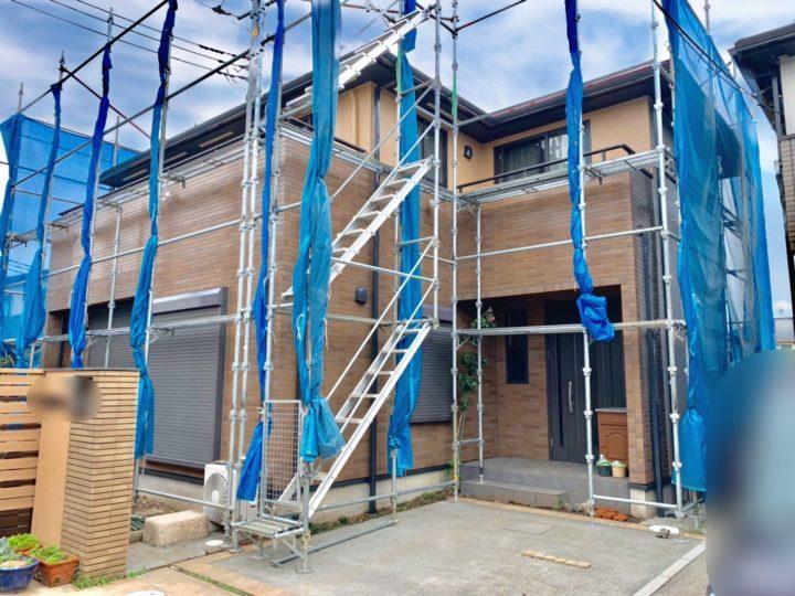 新座市 A様邸 屋根・外壁塗装工事