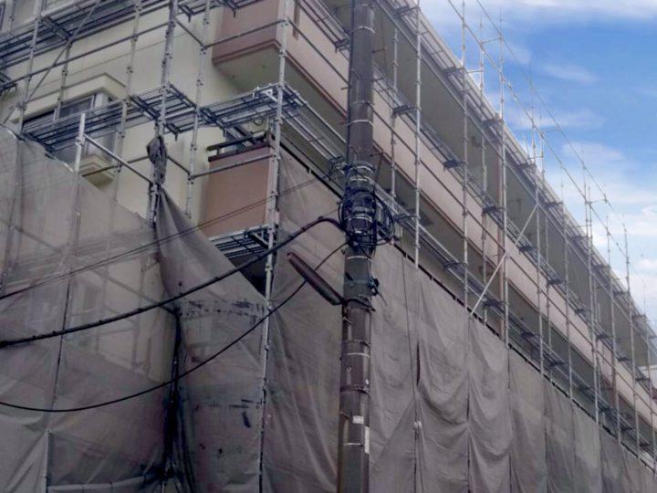 横浜市 マンション 外装改修・屋上防水工事