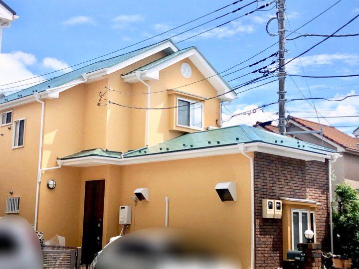 小平市 N様邸 屋根&外壁塗装工事