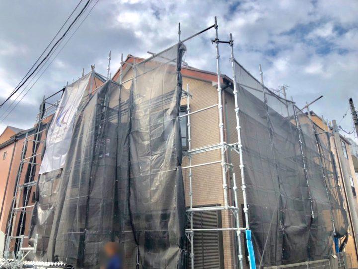 【施工中】武蔵野市 H様邸 屋根&外壁塗装工事