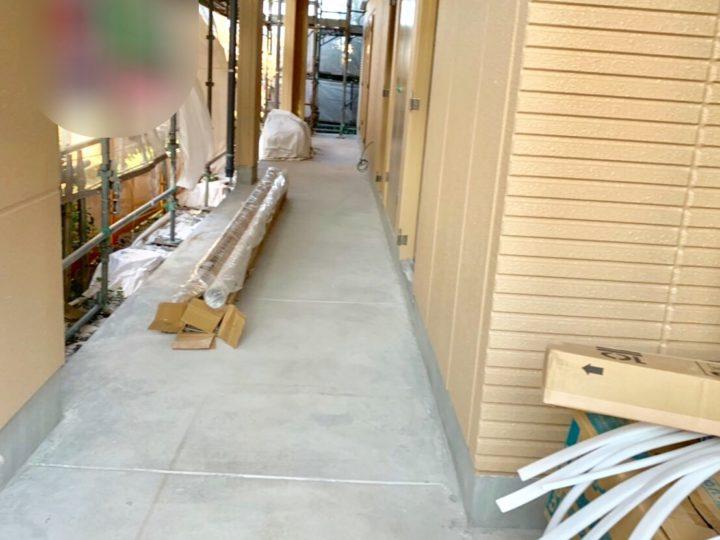 厚木市 新築アパート 外壁塗装工事