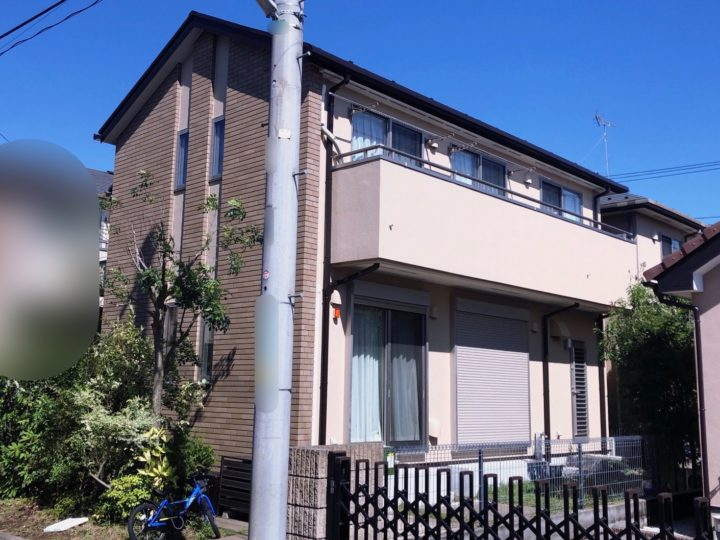小平市 N様邸 屋根・外壁塗装工事