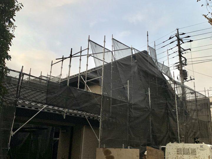 【施工中】武蔵野市 H様邸 外壁塗装・防水工事