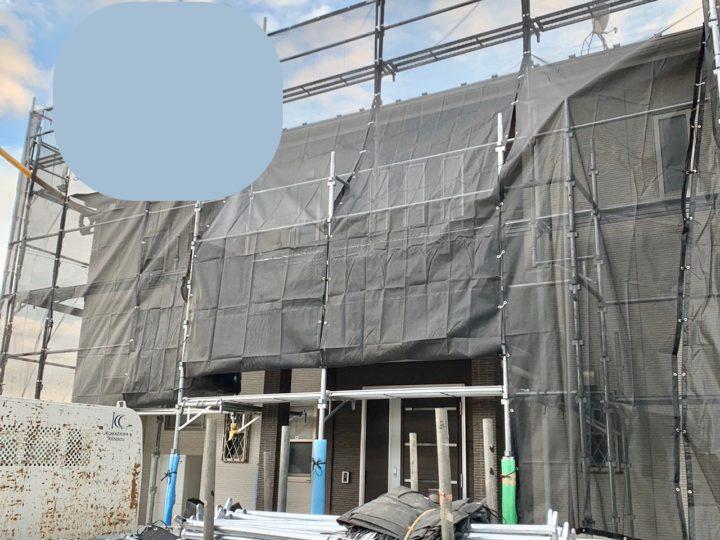 【施工中】秦野市 N様邸 屋根・外壁塗装工事