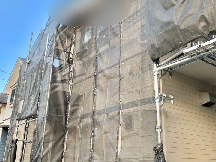 【施工中】小田原市 S様邸 外壁塗装工事