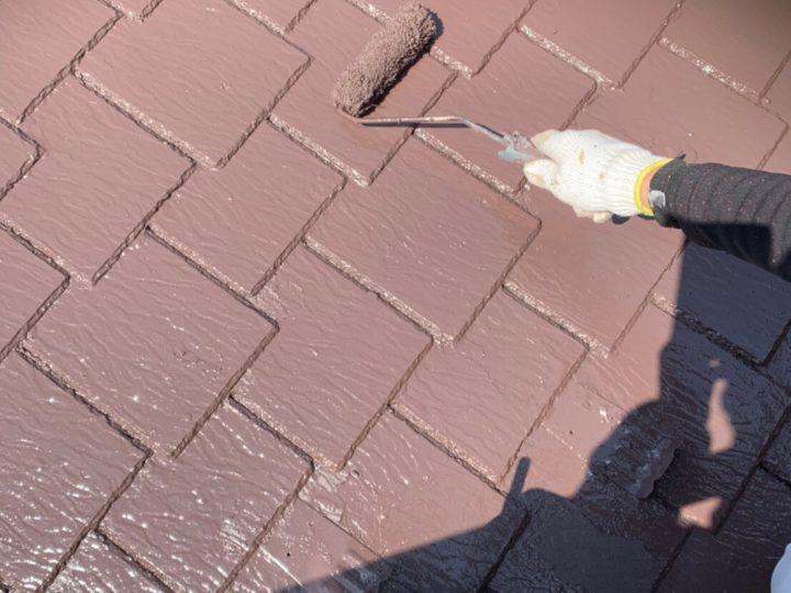 【施工中】横浜市 借家 屋根・外壁塗装工事
