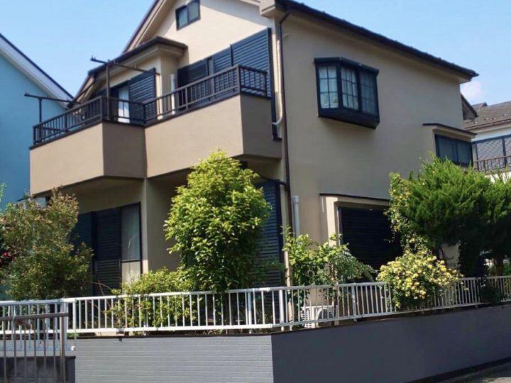 横浜市 借家 屋根・外壁塗装工事