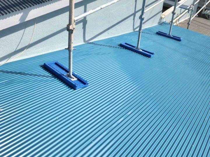 【施工中】横浜市 内装塗装・屋根塗装・外壁塗装工事