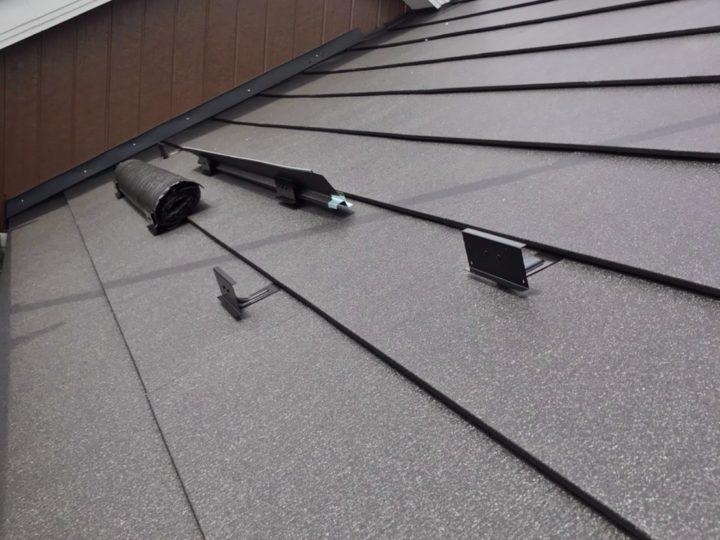 【施工中】厚木市 K様邸 外壁塗装・屋根カバー工事