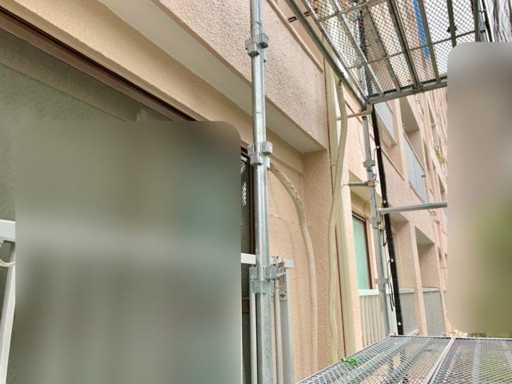 調布市 マンション 外壁補修工事