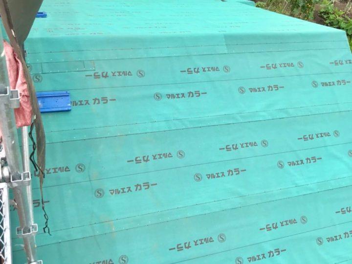 【施工中】中郡二宮町 T様邸 外壁塗装・屋根葺き替え工事