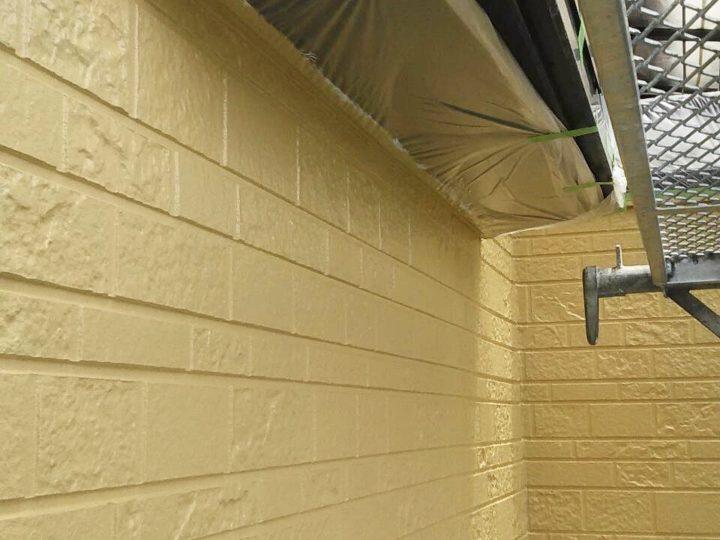 【施工中】小田原市 H様邸 屋根・外壁塗装工事