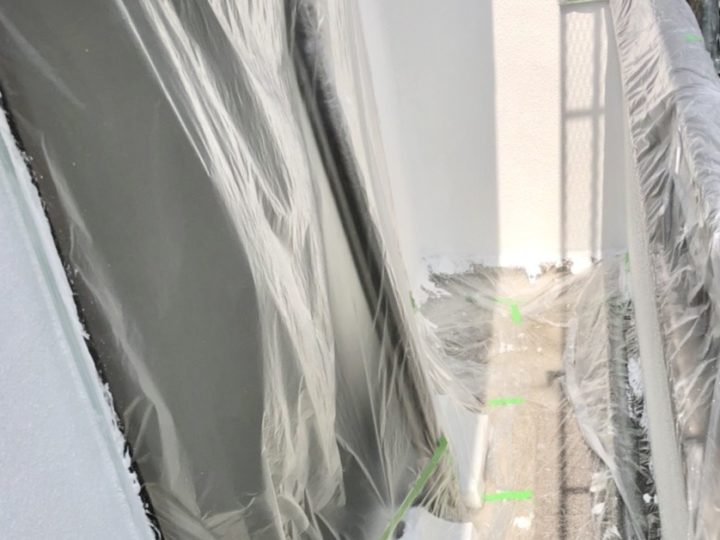 【施工中】西東京市 Y様邸 屋根・外壁塗装工事
