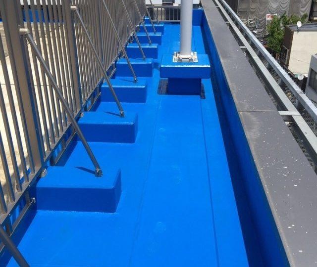 新宿区 歌舞伎町ビル 屋上防水工事