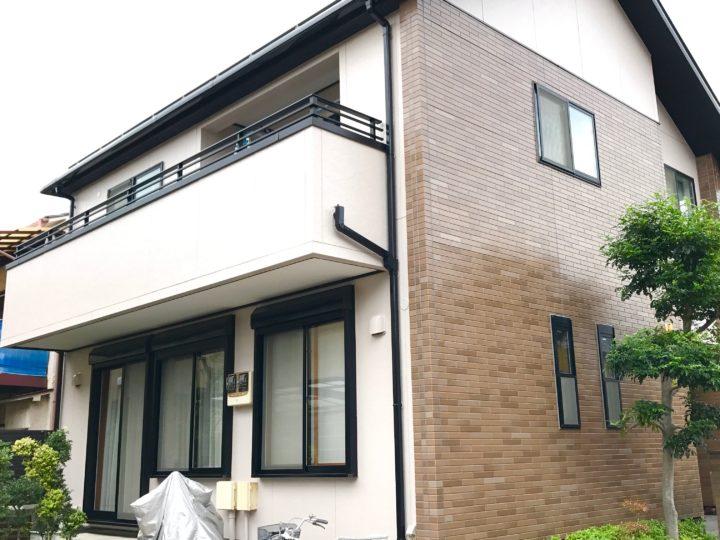 江東区 H様邸 外壁屋根塗装工事
