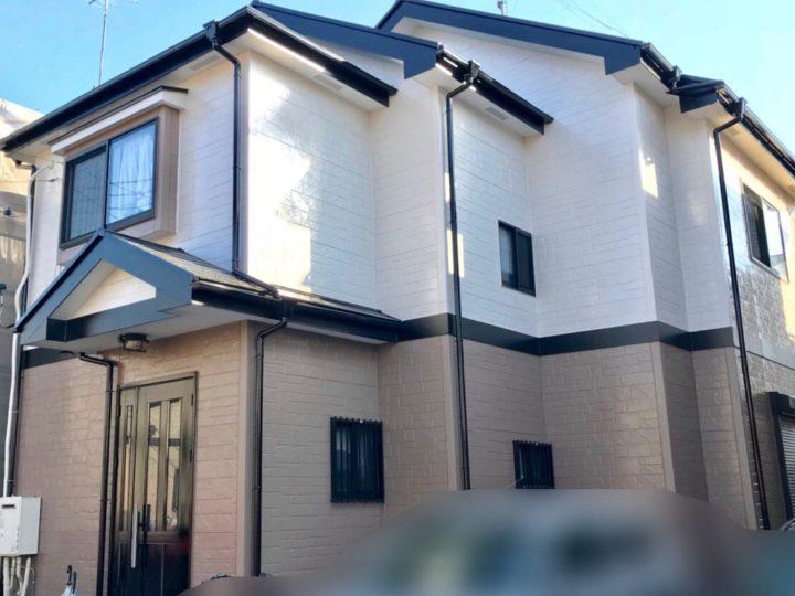 国分寺市 N様邸 外壁屋根塗装工事、ベランダ防水工事