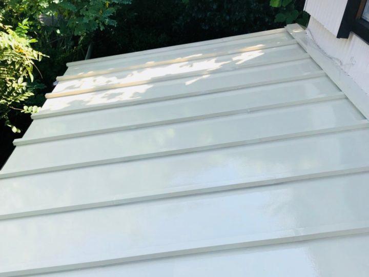中郡二宮町 T様邸 下屋根塗装工事