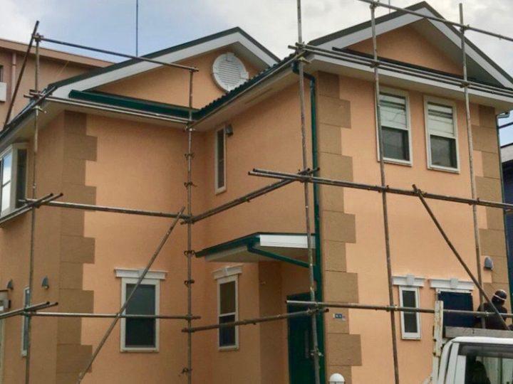 小田原市 K様邸 外壁塗装工事