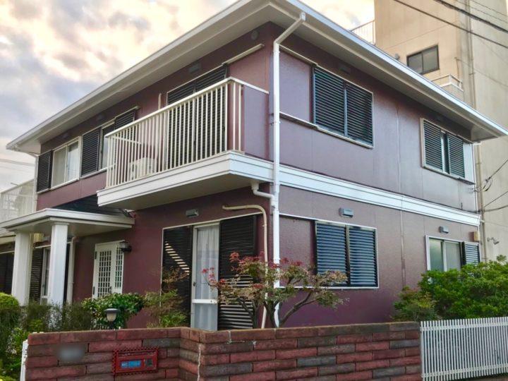 平塚市 K様邸 外壁屋根塗装、機関庫外壁屋根塗装