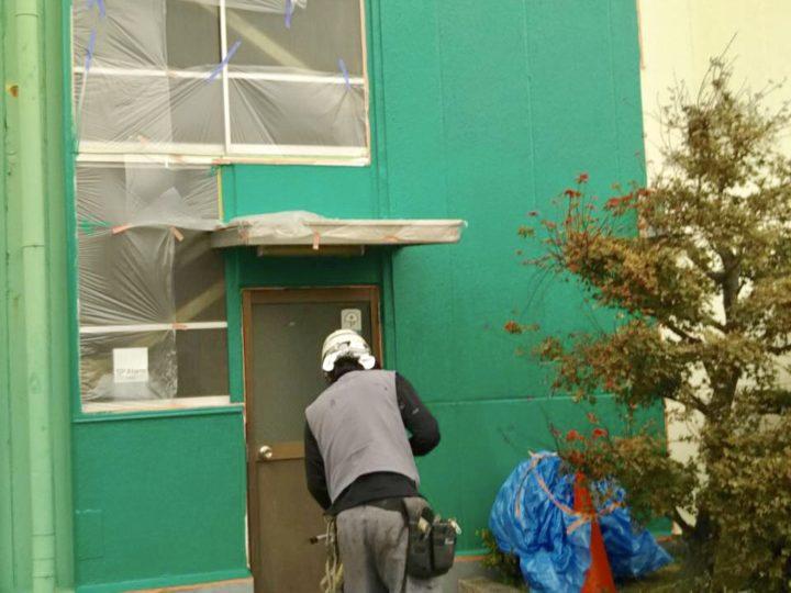 伊勢原市 工場 外壁修繕工事