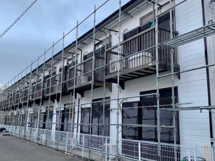 厚木市 T様 アパート外壁塗装・屋根塗装工事