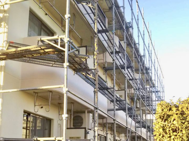 厚木市 マンション外壁改修工事、屋上防水工事